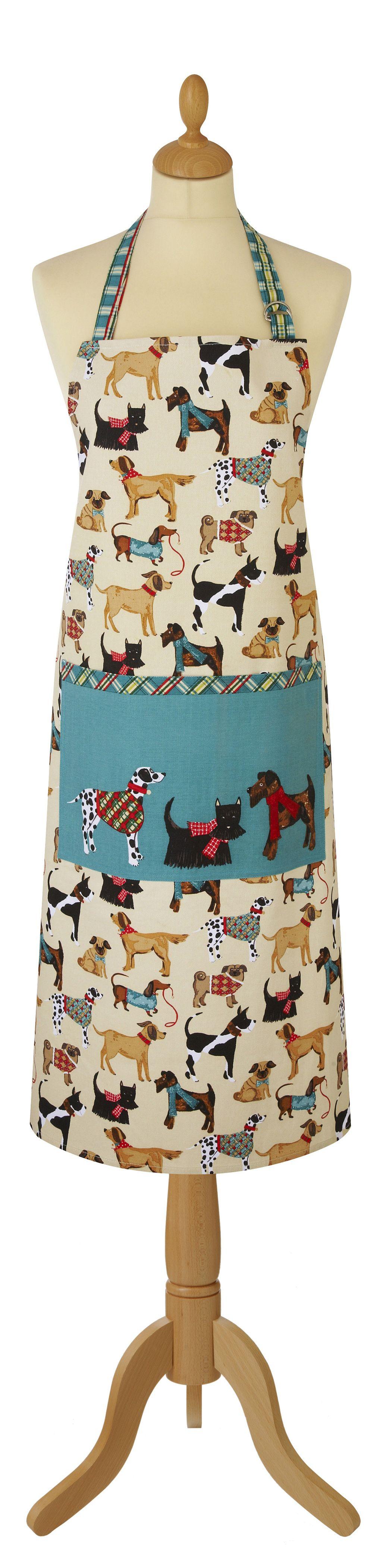 Forklæde Hound Dog fra Ulster Weavers