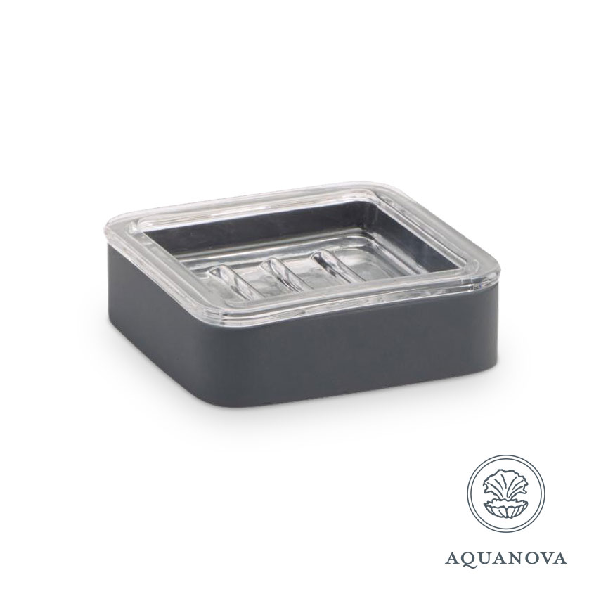 Sæbeskål Aquanova Ona grå
