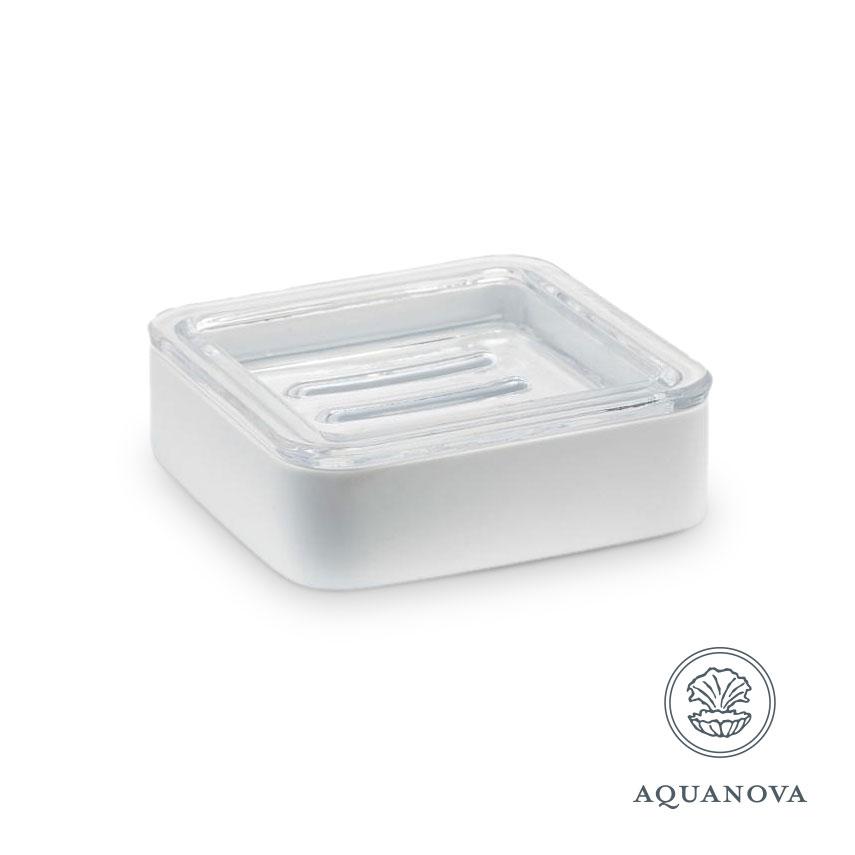 Sæbeskål Aquanova Ona hvid