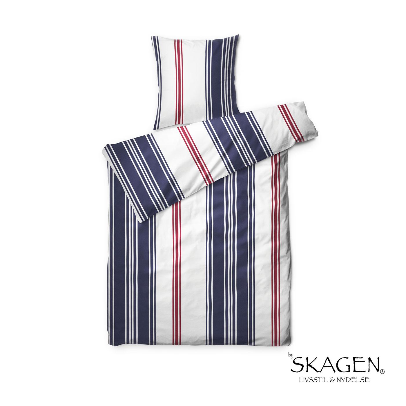 skagen sengetøj by Skagen Emily – maritimt sengetøj i lækkert bomulddsatin skagen sengetøj