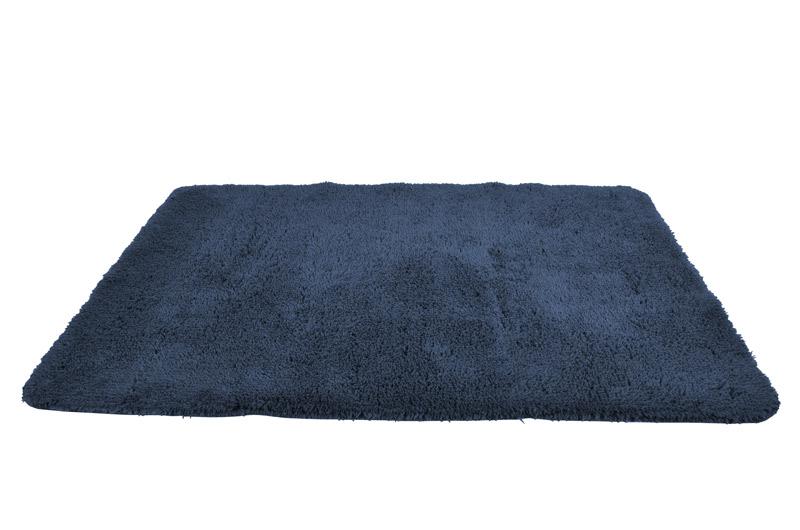Bademåtte waves mørkeblå fra gartex