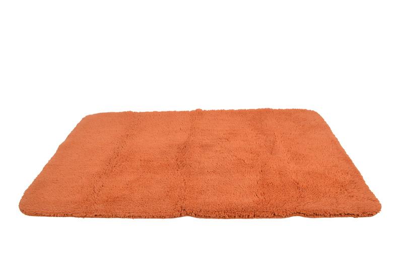 Bademåtte waves orange fra gartex