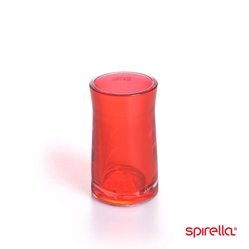 Spirella-tandkrus rød