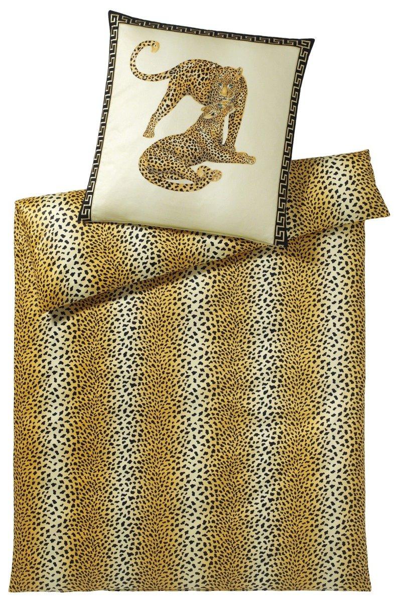 Sengelinned Gepard-pair beige fra elegante