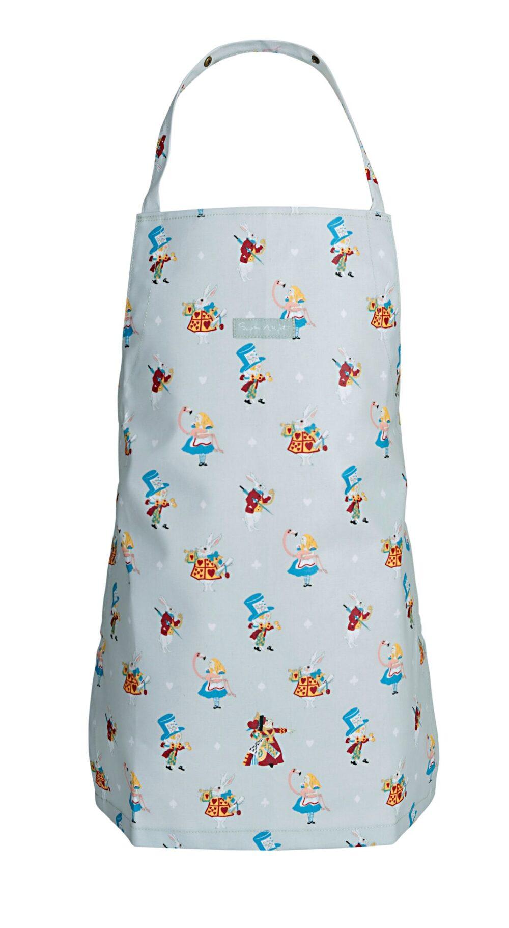 Børneforklæde Alice in Wonderland fra Sophie Allport