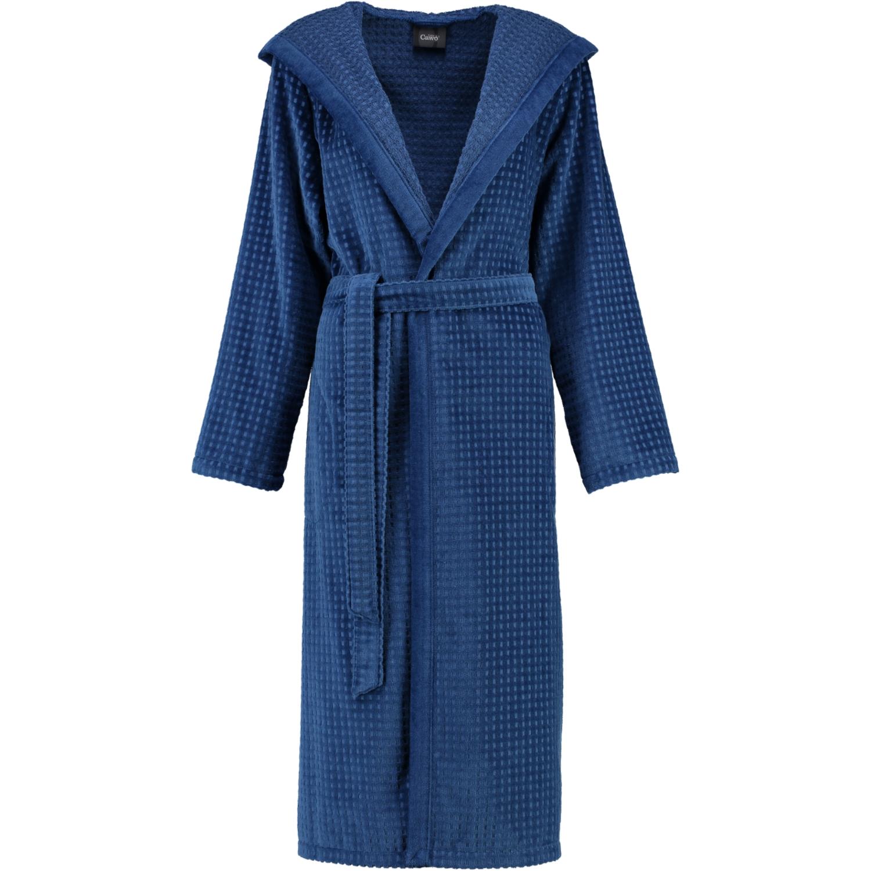 b861edfa059 Dame badekåbe blå med hætte fra Cawö - Eksklusiv blød kvalitet