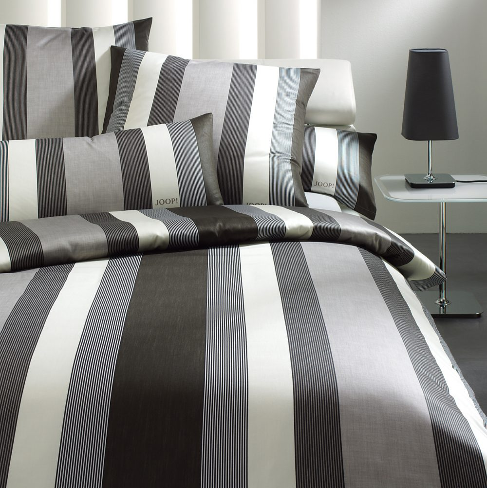 JOOP sengelinned Stripe sort