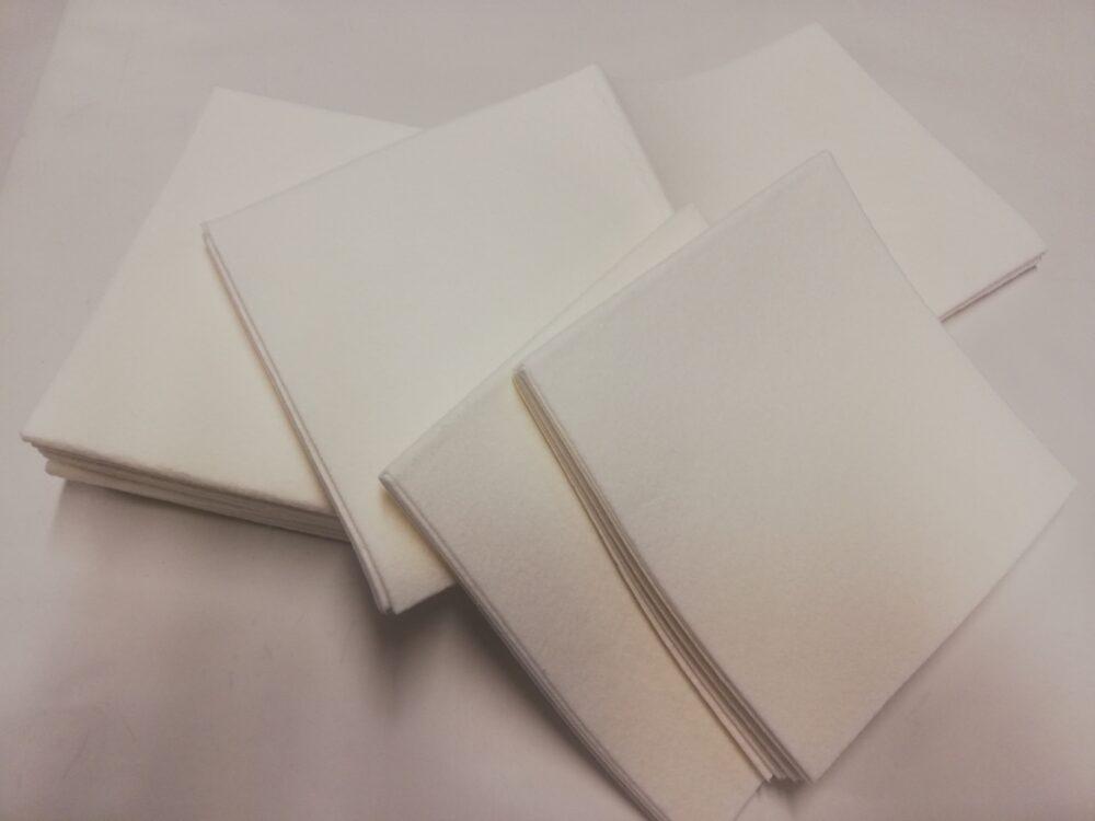 Karklud hvid uden microplastik