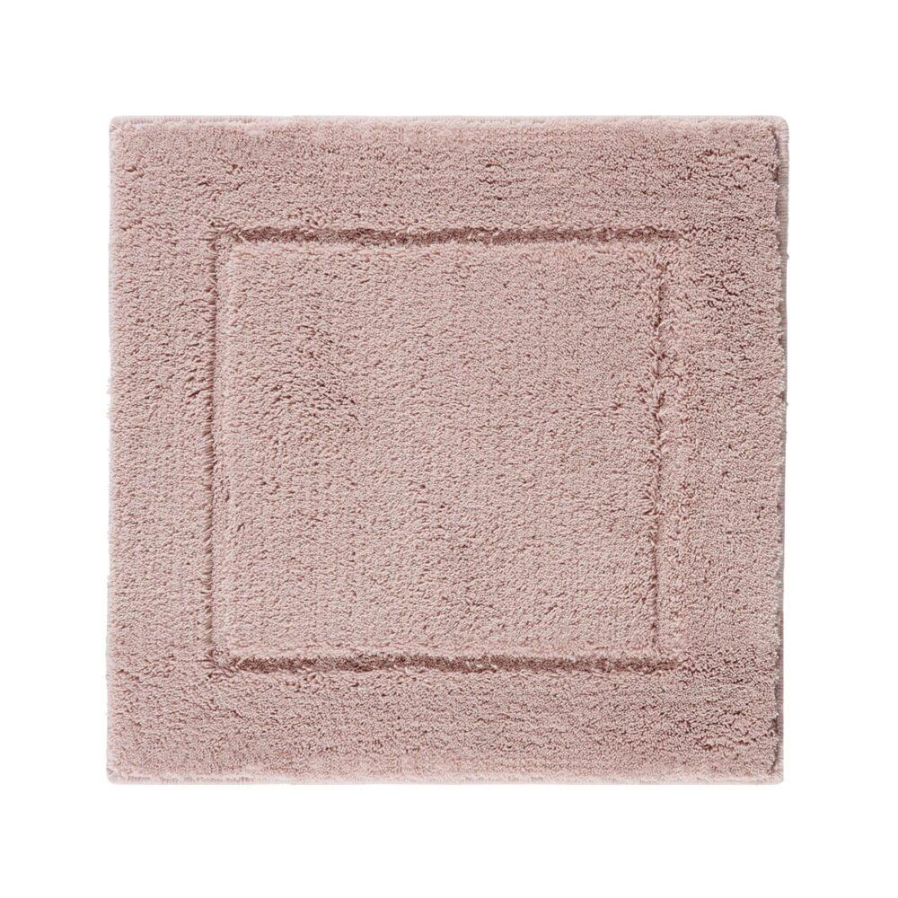 Accent bademåtte - støvet rosa