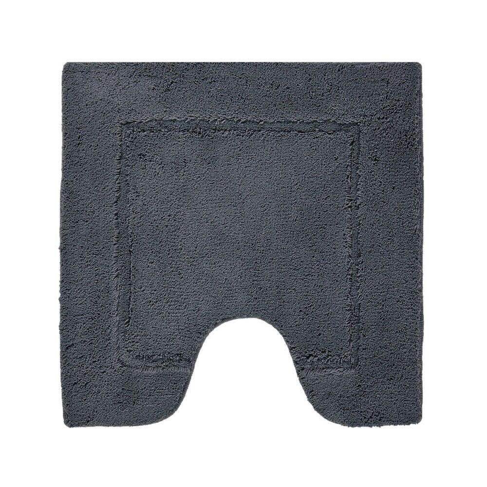 Accent bademåtte-toilet - mørkegrå
