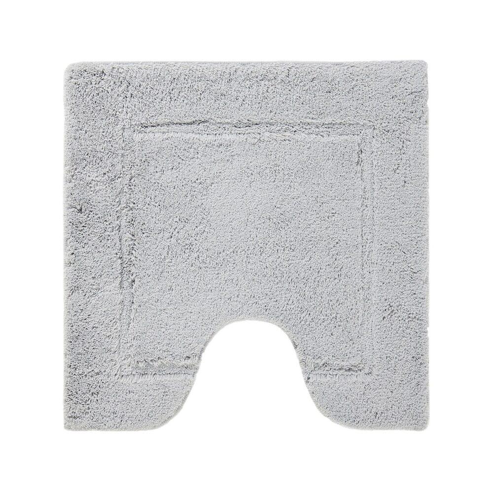 Accent bademåtte-toilet - sølvgrå