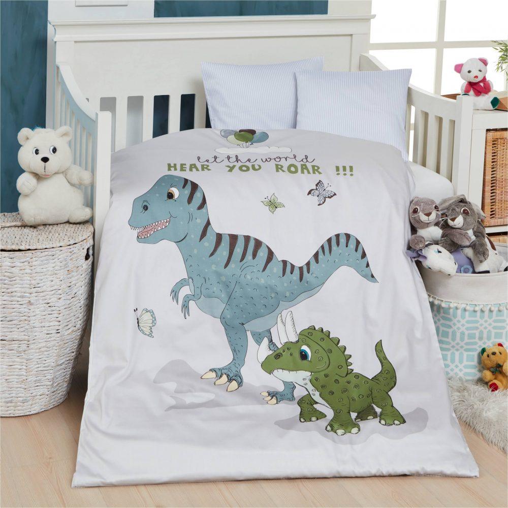 Sengetøj Dino fra bySKAGEN
