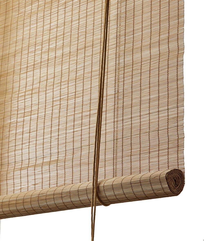 Bambus rullegardin brun fin fra Color & Co