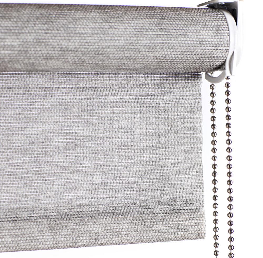 Papir & plante rullegardin med kæde fra Color & Co